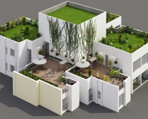 Căn hộ Sky Villa Rừng Cọ Ecopark 03