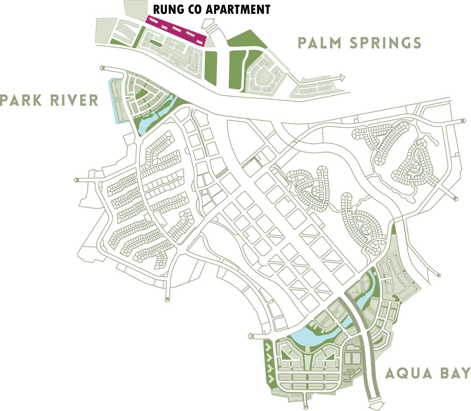 Vị trí chung cư Rừng Cọ Ecopark
