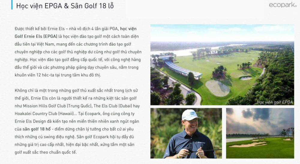 Hoc Vien Golf Dang Cap Epga