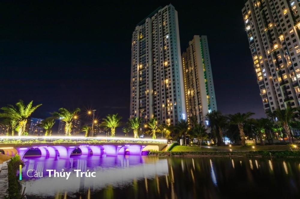 Cầu Thủy Trúc Ban đêm Ecopark