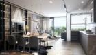 Nội Thất Chung Cư Sky Oasis Phòng Bếp Và Khách
