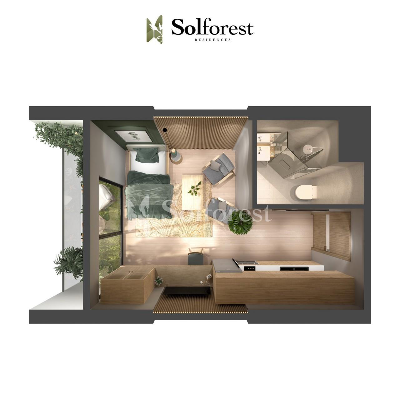 Căn Hộ Studio Solforest Ecopark