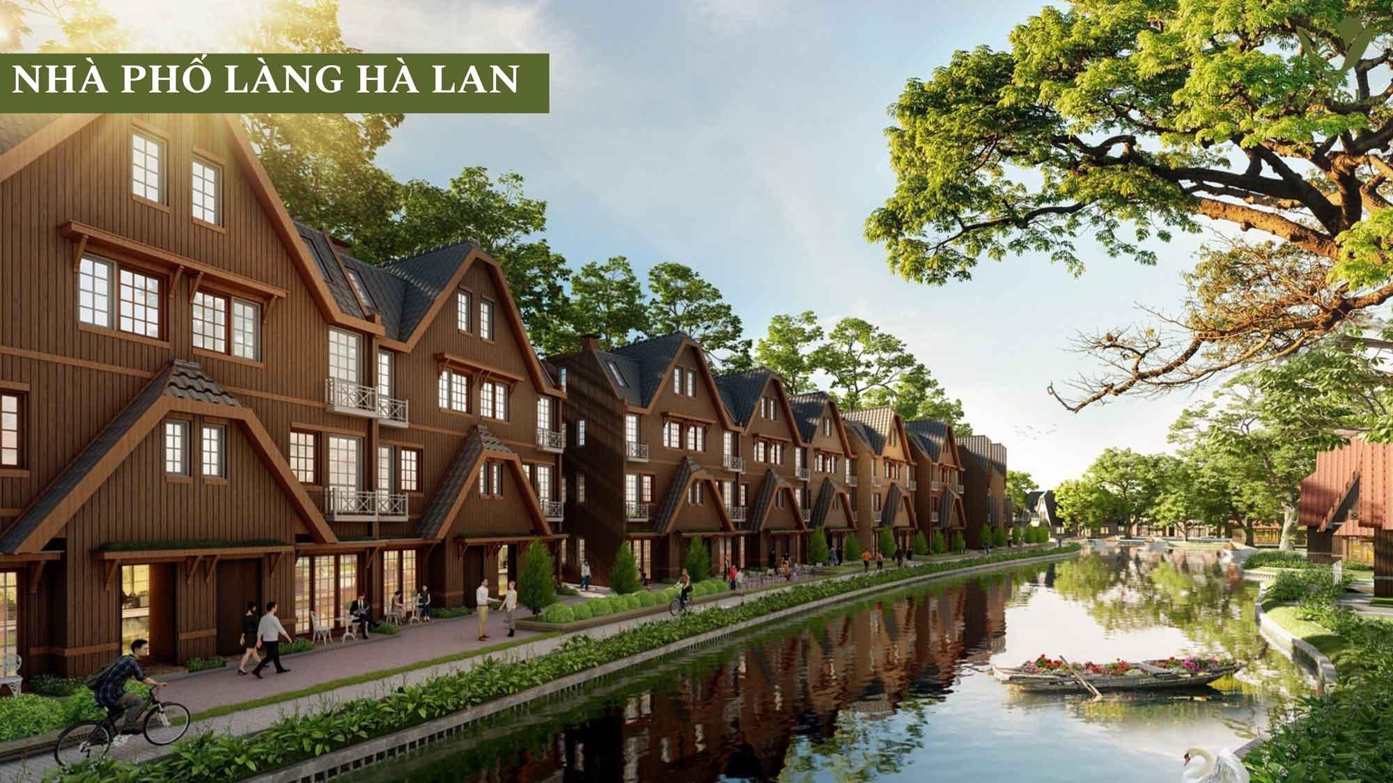 Nhà-phố-làng-Hà-Lan-Ecopark