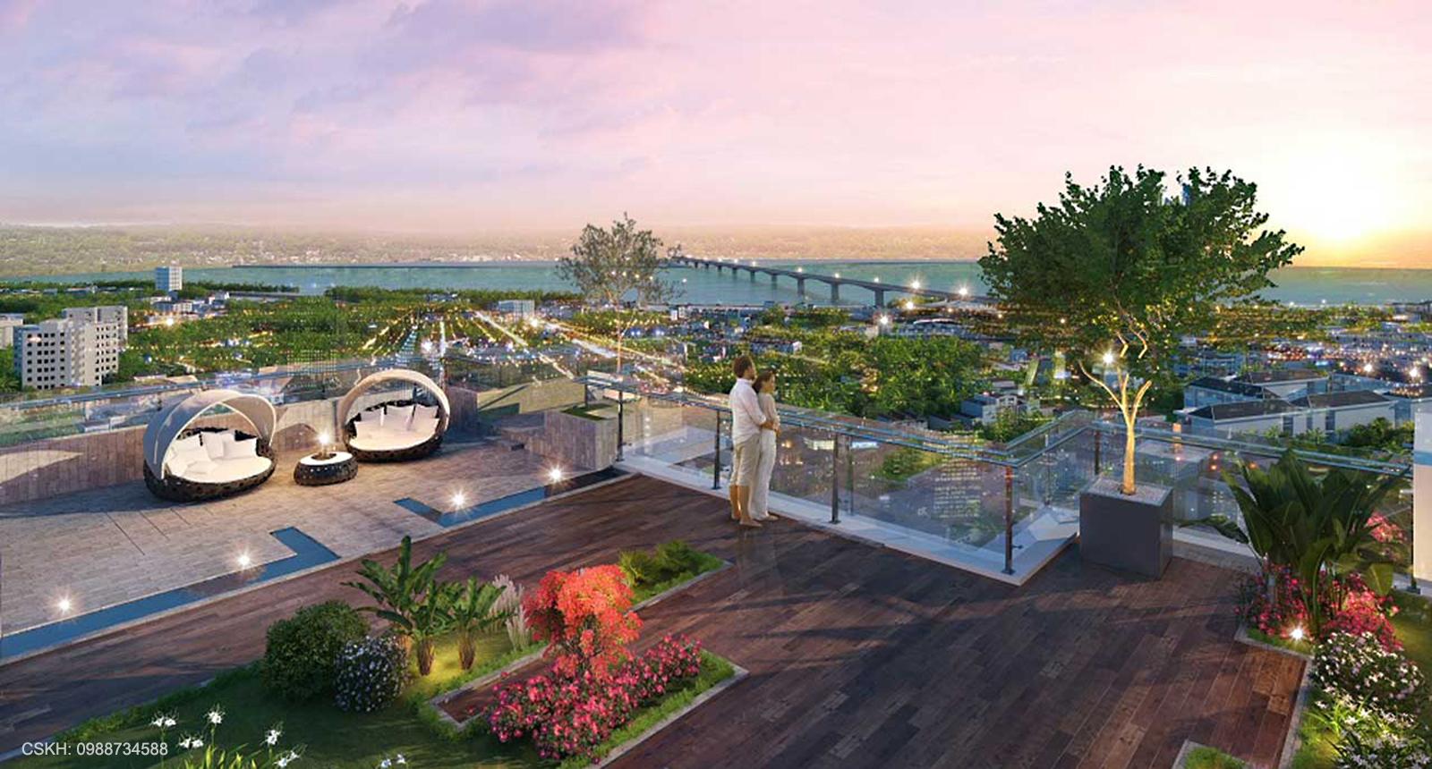 Vườn thượng uyển Eco Smart City Cổ Linh